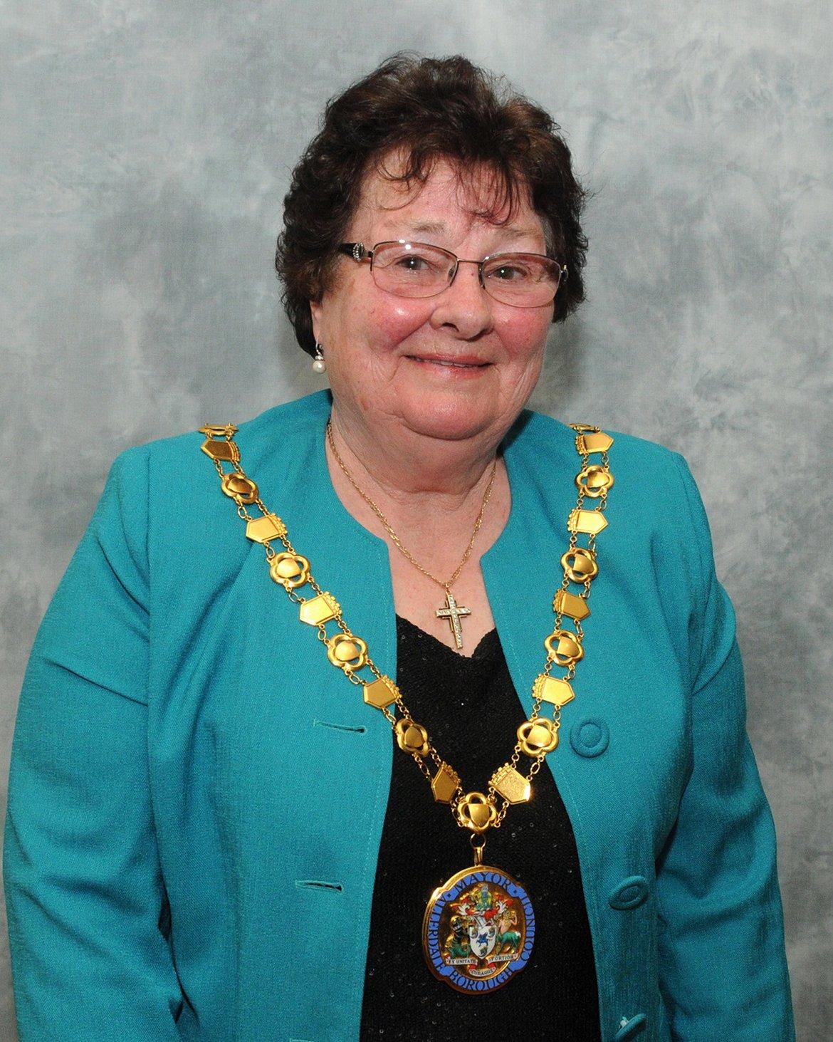 Mayor Cllr Hilary Harrington