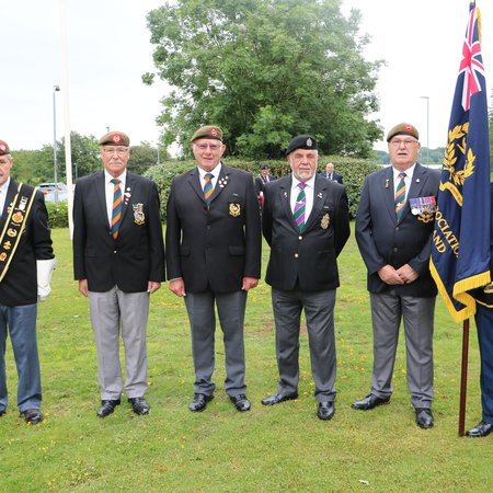 Mayor hosts Armed Forces Day ceremony